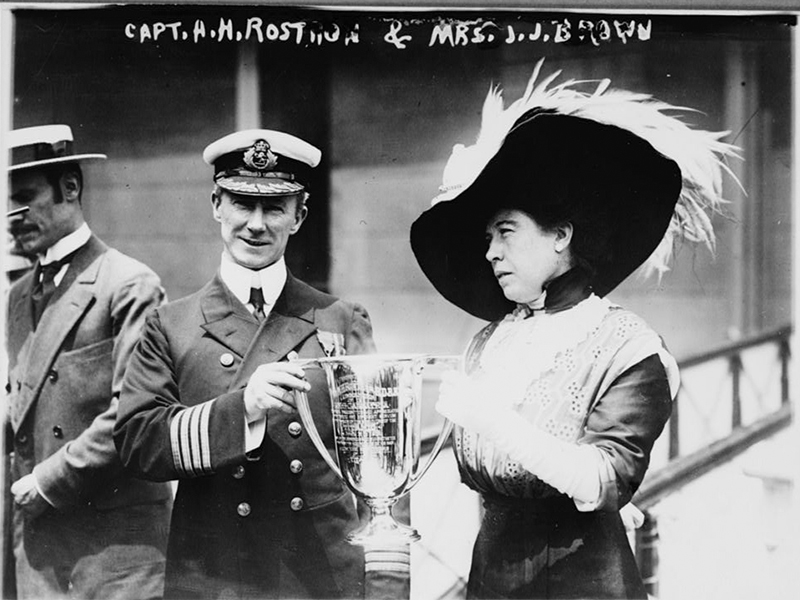 Margaret and Capt Rostron
